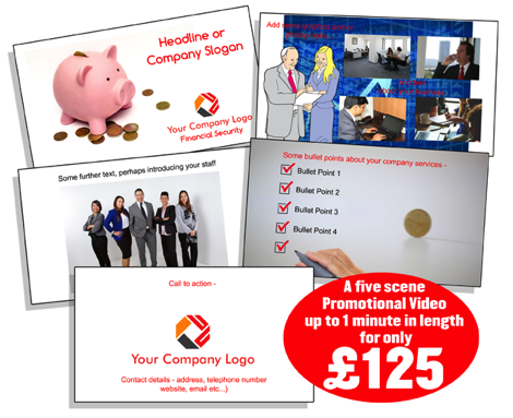 £125 promotional video